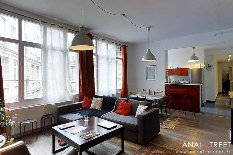 Bonsergent, grand 2 pièces 64 m²